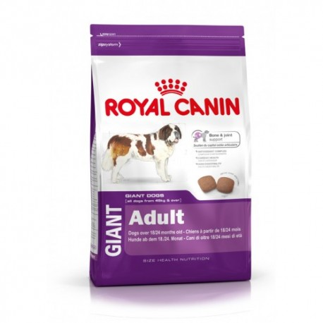 ROYAL CANIN GIANT ADULTO 15 Kilos