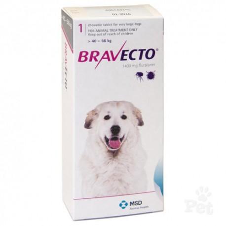 BRAVECTO 40 - 56 KG - ANTIPARASITARIO EXTERNO MASTICABLE