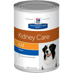 HILLS PRESCRIPTION DIET CANINE K/D LATA 370 GRS