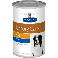 HILLS PRESCRIPTION DIET CANINE S/D LATA 370 GRS