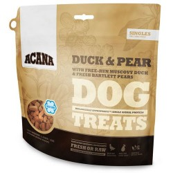 ACANA DUCK & PEAR TREATS DOG 35 GRS