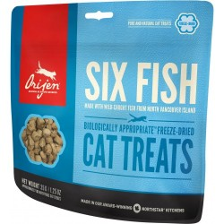 ORIJEN SIX FISH TREATS CAT 35 GRS