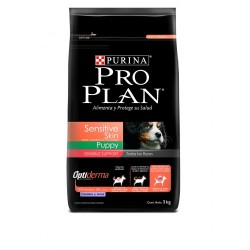 PRO PLAN SENSITIVE SKIN PUPPY CORDERO & ARROZ 3KG