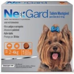 NEXGARD 2 A 4 KG (3 COMPRIMIDOS)