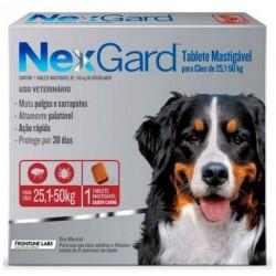 NEXGARD 25,1 A 50 KG - 3 COMPRIMIDOS