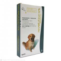 Antiparasitario REVOLUTION 12% para Perros de 20,1 a 40 kg