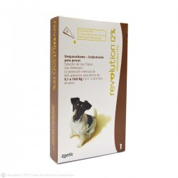 Antiparasitario REVOLUTION 12% para Perros de 5,1 a 10 kg