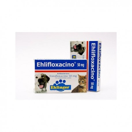 Ehlifloxacino 50mg Comprimidos