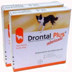 Drontal Plus 10Kg 2 tabletas