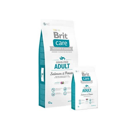BRIT CARE SALMÓN ADULTO 12KG