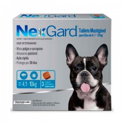 NexGard 3 Comprimidos 4 a 10 Kg