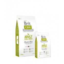 Brit Care Adult Small Breed – Lamb & Rice 7.5KL.