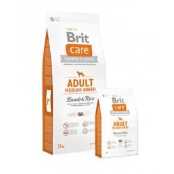 Brit Care Adult Medium Breed –Lamb & Rice 12KL.