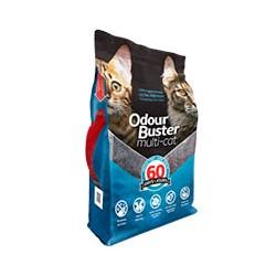Odour Buster Multi Cat - Arena Sanitaria Super Premium 12kg.
