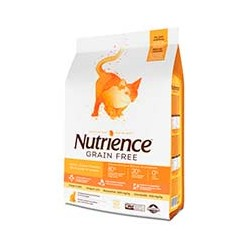 Nutrience Cat Grain Free Pavo, Pollo y Arenque 2.5kg