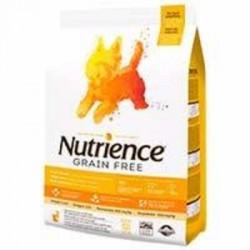 Nutrience Dog Grain Free Pavo, Pollo, Arenque Small 5kg.