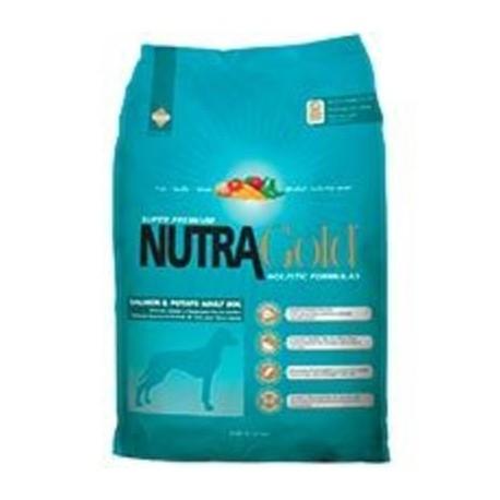 NutraGold Dog Salmon y Potato 15kg.