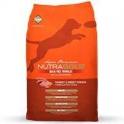 NutraGold Grain Free Turkey and Sweet Potato (Pavo) 13.6kg.