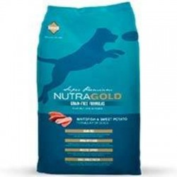 NutraGold Grain Free WhiteFish and Sweet Potato (Pescado) 13.6kg.
