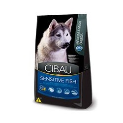 CIBAU SENSITIVE FISH MEDIUM & MAXI 12KG.