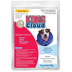 Collar Isabelino Inflable y Lavable KONG CLOUD XSmall