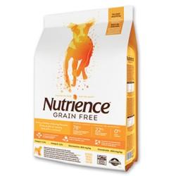 Nutrience Dog Grain Free Pavo, Pollo, Arenque 2.5kg.
