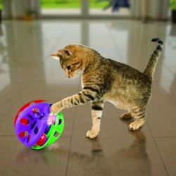KONG ACTIVE CAT SCRATCHER CON CAT NIP PARA GATOS