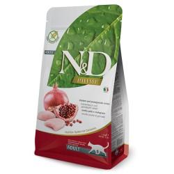 N&D POLLO & GRANADA GATO ADULTO GRAIN FREE /SIN GRANOS