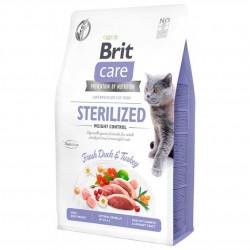 BRIT CARE CAT GRAIN-FREE STERILIZED WEIGHT CONTROL 2 kg.